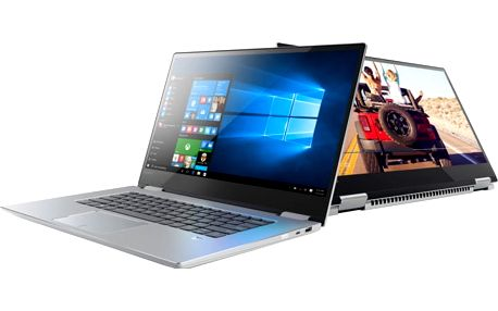 Lenovo Yoga 720-15IKB, platinově-stříbrná - 80X7000KCK