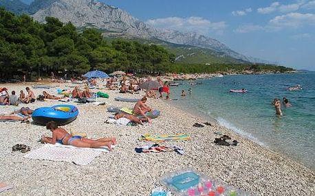 8denní dovolená v Chorvatsku pro 1 osobu ve stanu, doprava autobusem