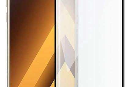 Screenshield temperované sklo na displej pro Galaxy A5 2017 (A520), kovový rámeček, černá - SAM-TGFCBMFA520-D