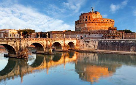 Itálie, Řím na 4 dny pro 1 osobu s ubytováním a leteckou dopravou
