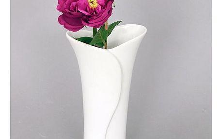 Autonic Keramická váza Lora, bílá