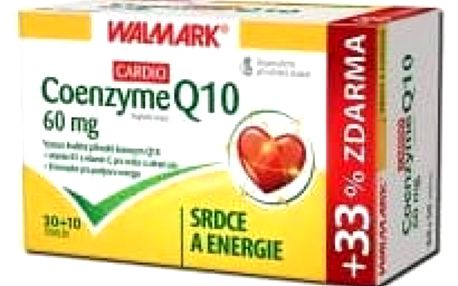 WALMARK Coenzyme Q10 CARDIO 60 mg 30+10 tobolek
