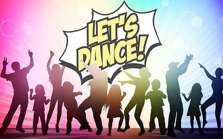 Letní týdenní taneční tábory pro 1 dospělého nebo dítě od taneční skupiny Let's dance