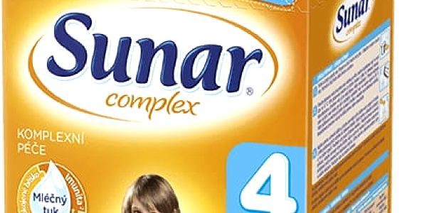 SUNAR Complex 4 (600 g) - kojenecké mléko