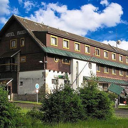 3 až 6denní pobyt s polopenzí a saunou v hotelu Maxov*** v Jizerských horách pro 2