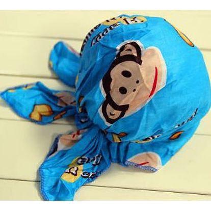 Dětský pirátský šátek - chrání dětskou hlavičku před sluncem!