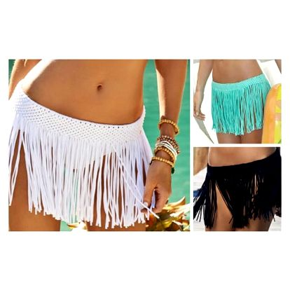 Plážová sukně s třásněmi Lima