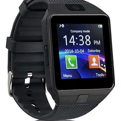 Chytré hodinky IMMAX SW1 SIM (09002) černé
