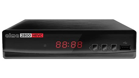 Set-top box Alma 2800 T2 , černý - DBTALH1128