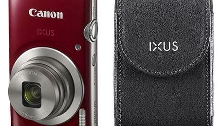 Digitální fotoaparát Canon 185 + orig.pouzdro (1809C010) červený