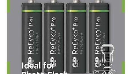 GP AA ReCyko+ Pro PHOTO FLASH series, nabíjecí, 4 ks - 1033224260