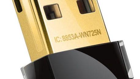 WiFi adaptér TP-Link TL-WN725N (TL-WN725N) černý