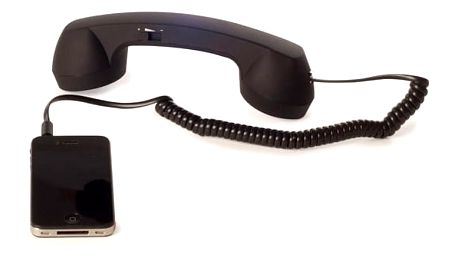 Retro sluchátko pro mobil
