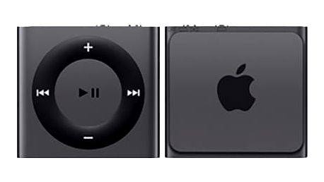 Apple iPod shuffle - 2GB, šedá, 4th gen. - MKMJ2HC/A