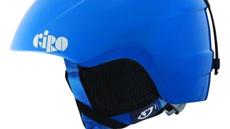 Dětská lyžařská helma Giro Slingshot, XS/S, modrá + SLEVA 15 %