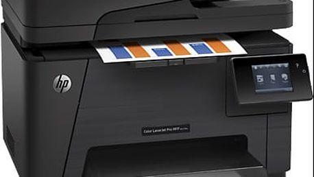 HP Color LaserJet Pro MFP M177fw - CZ165A + Poukázka OMV v ceně 200 Kč HP IPG
