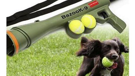 Bazuka na tenisové míčky