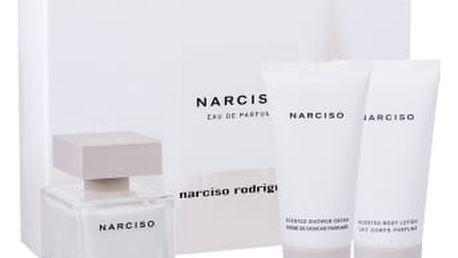 Narciso Rodriguez Narciso dárková kazeta pro ženy parfémovaná voda 50 ml + tělové mléko 50 ml + sprchový krém 50 ml