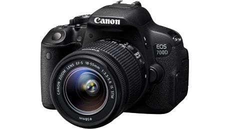 Canon EOS 700D + 18-55mm IS STM + baterie LP-E8 - 8596B091