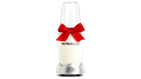 Stolní mixér Delimano NUTRIBULLET 600 White stříbrný/bílý Nůž Tinita Chef Knife (zdarma) + Doprava zdarma