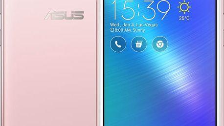 ASUS ZenFone Live, růžová - 90AK0073-M00330 + Powerbank ASUS ZenPower Slim 4000 mAh, v hodnotě 1 000,-