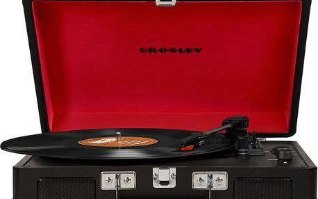 Crosley Cruiser Deluxe, černá - CR8005D-BK4
