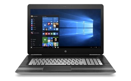Notebook HP Gaming 17-ab201nc (1GM90EA#BCM) černý/stříbrný