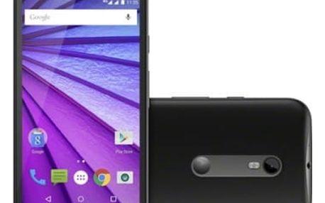 Mobilní telefon Motorola Moto G 8 GB (SM4269AE7T1) černý