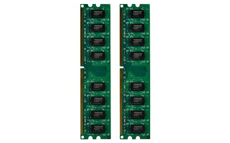 Patriot Signature Line 4GB (2x2GB) DDR2 800 CL 6 - PSD24G800K