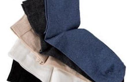 Dámské bavlněné ponožky PLAIN 5ks (vel.39-42)