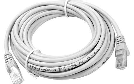 UTP kabel rovný kat.6 (PC-HUB) - 30m, šedá - 8592220004835
