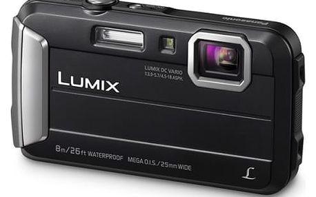 Digitální fotoaparát Panasonic DMC-FT30EP-K černý