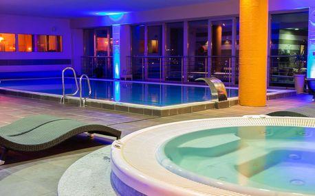Wellness, fitness i výstava aut v hotelu Holiday Inn s polopenzí a krásným výhledem