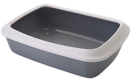 Savic Toaleta Isis+okraj 50*37*14cm šedá