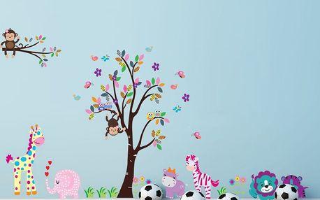 Samolepka Fanastick Cute Animals In The Garden