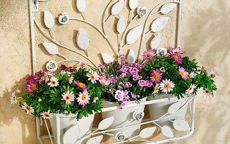 """Nástěnný držák na květináče """"trio"""""""
