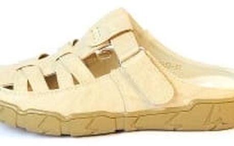 Dámské zdarovtní pantofle TOP PLAY béžové