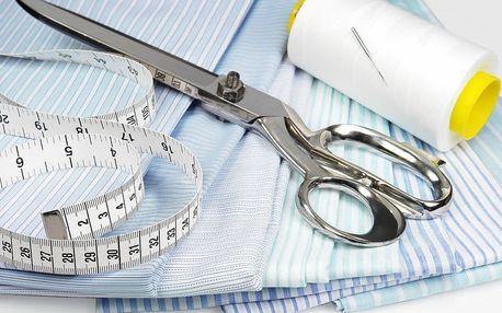 Krejčovské služby: profi úprava a oprava oděvů
