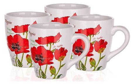 BANQUET Red Poppy hrnek 500 ml