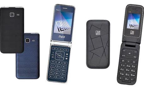Odolné mobilní telefony Pelitt pro snadné užívání v různých provedeních