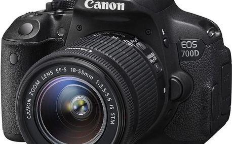 Canon EOS 700D + 18-55mm IS STM + baterie LP-E8 - 8596B091