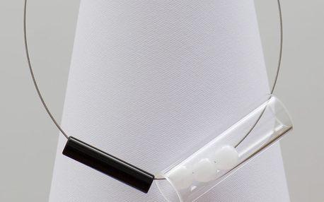Skleněný náhrdelník Ko–ra–le Tubes Play
