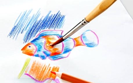 Akvarelové pastelky, 48 ks