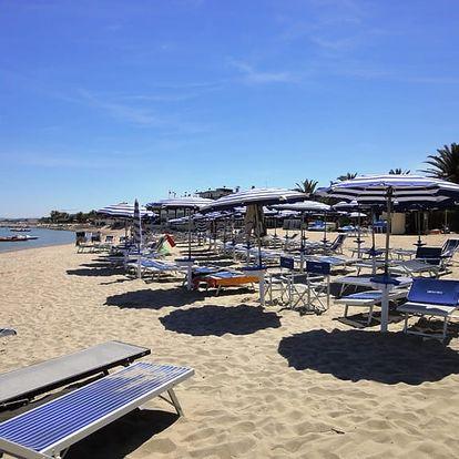 Do Itálie na týden autobusem: Martinsicuro - mobilhomy u pláže