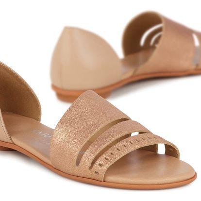 Emu hnědé dámské sandály Ibis - 38