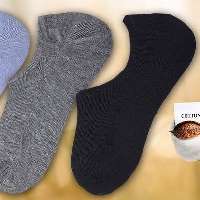 9 párů dámských nebo pánských ponožek do tenisek