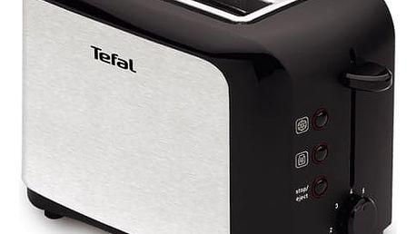 Opékač topinek Tefal TT356110 černý/nerez