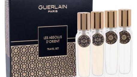 Guerlain Les Absolus D´Orient dárková kazeta unisex parfémovaná voda Santal Royal 2x 15 ml + parfémovaná voda Ambre Eternel 2x 15 ml