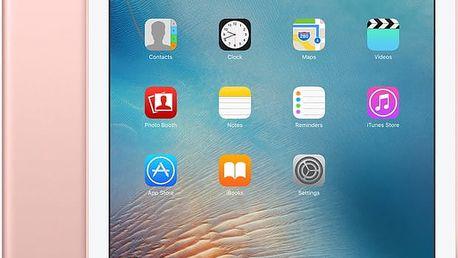 """APPLE iPad Pro Cellular, 9,7"""", 128GB, Wi-Fi, růžová/zlatá - MLYL2FD/A + Zdarma GSM T-Mobile SIM s kreditem 200Kč Twist (v ceně 200,-)"""