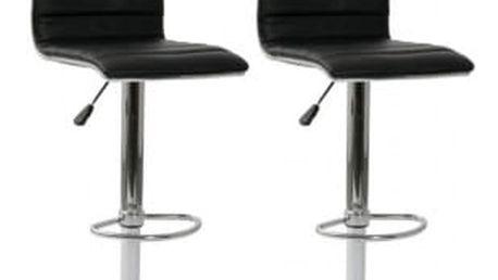 2x Barová židle Hawaj CL-3233 (černá)